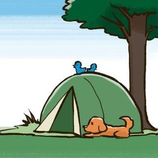 【キャンプ入門】ひとりで。ふたりで。自然の中で《時間(とき)を味わうキャンプ》前編