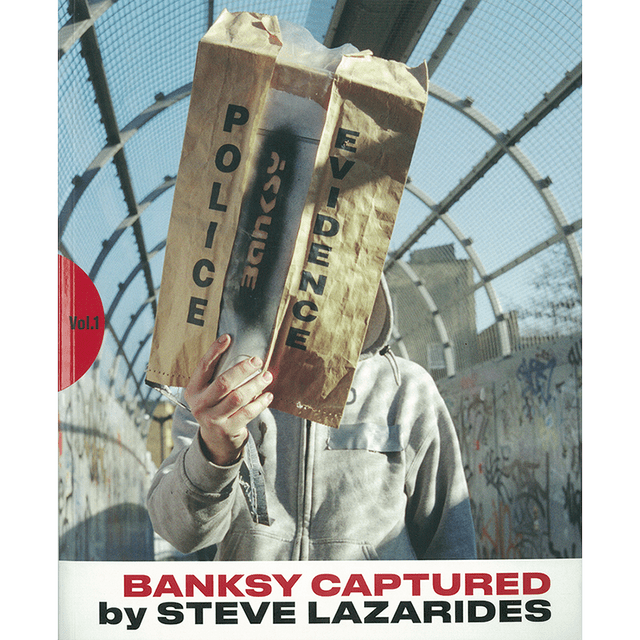 BANKSY CAPTURED by STEVE LAZARIDES vol.1 2nd edition
