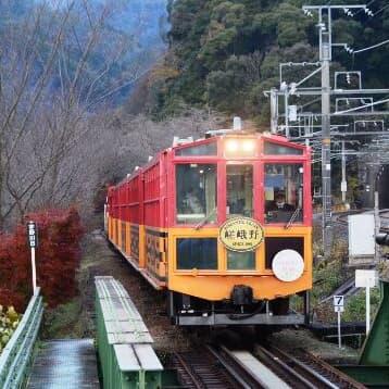 嵯峨野観光鉄道のトロッコ列車で充実したミニトリップ