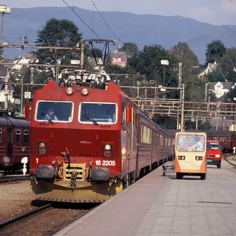 フロム鉄道とフィヨルドクルーズ