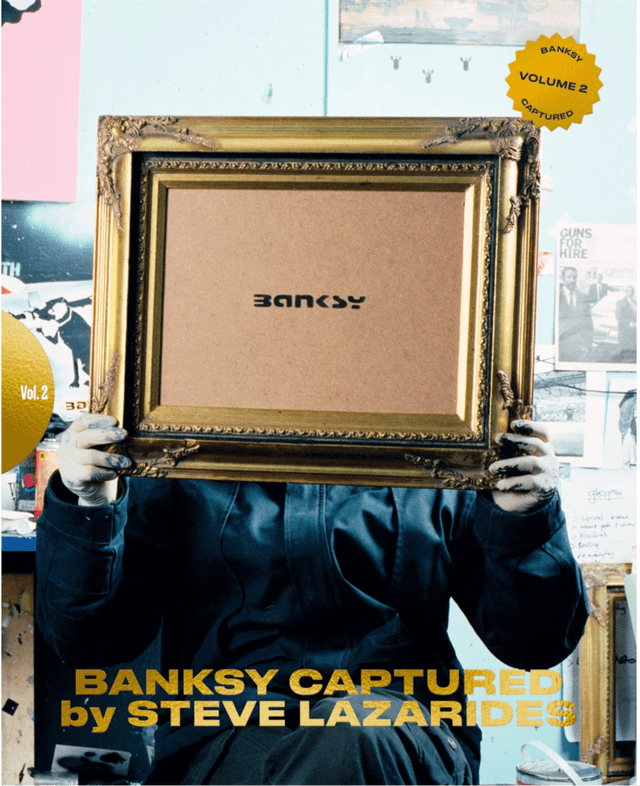 BANKSY CAPTURED by STEVE LAZARIDES Vol.2 2nd edition