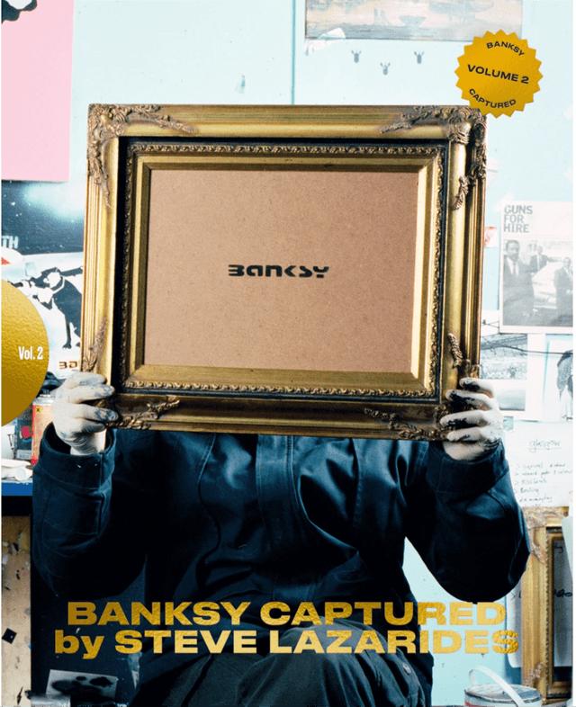 BANKSY CAPTURED by STEVE LAZARIDES Vol.2 2nd edition