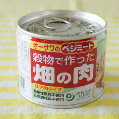これもあり! 予想以上に肉っぽい「畑の肉」缶