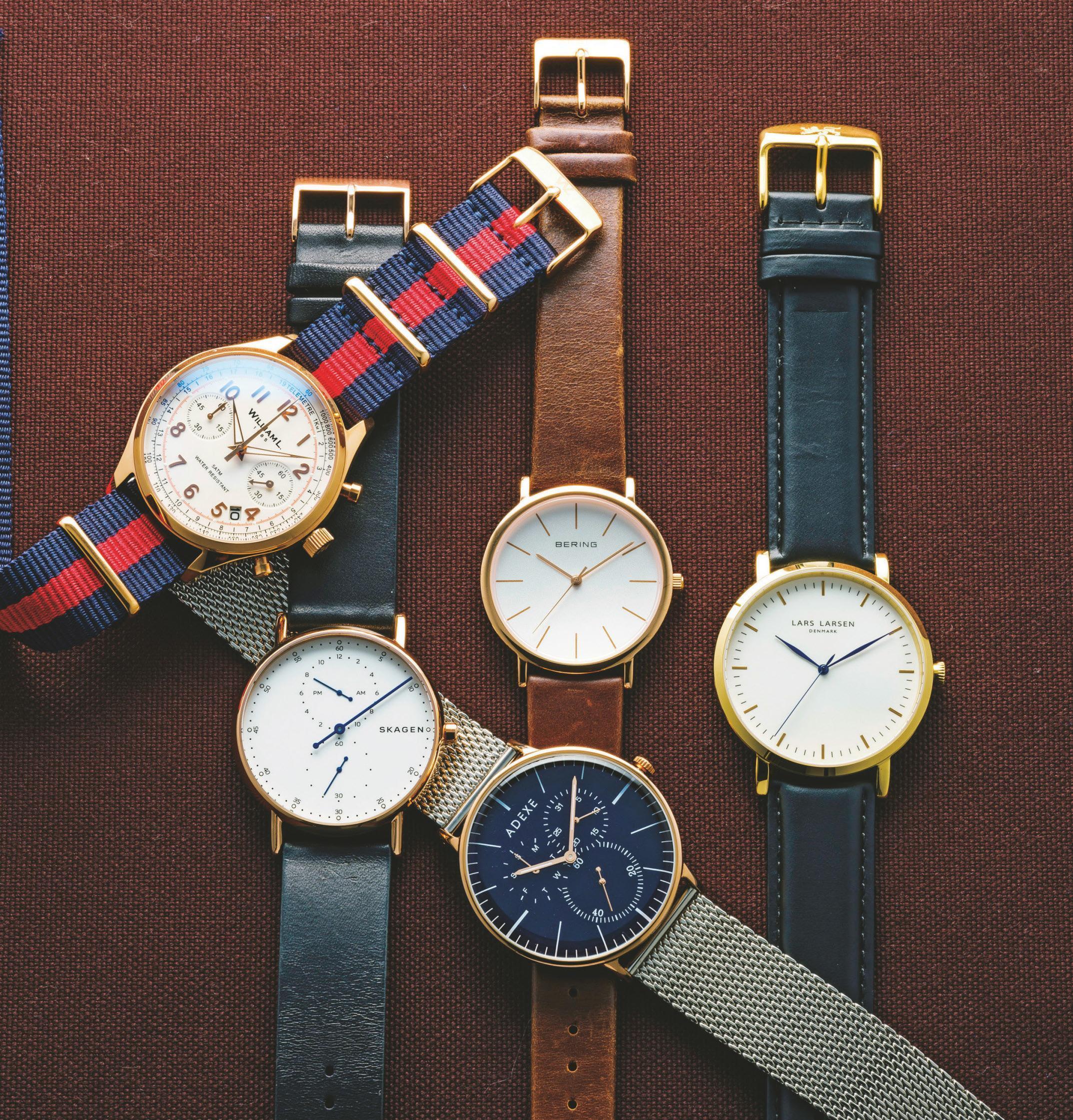 3万円以下で高級時計に見えるゴールド時計5選<br />