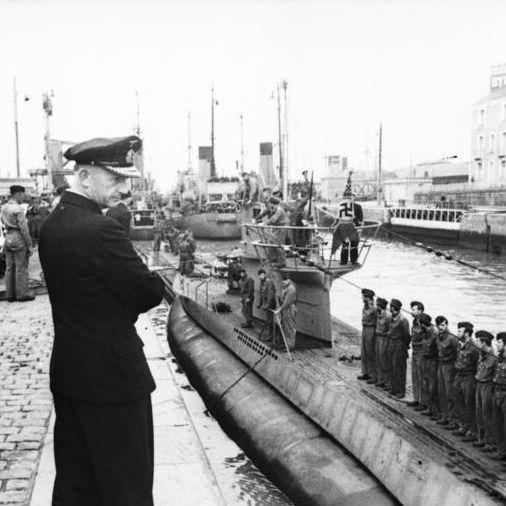 第二次大戦における、ドイツ軍Uボート艦隊総司令官デーニッツの思惑