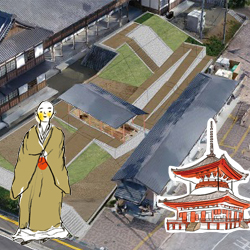 「日本でもっとも繁栄している寺院の一つ」と評された根来寺の遺跡展示施設がプレオープン