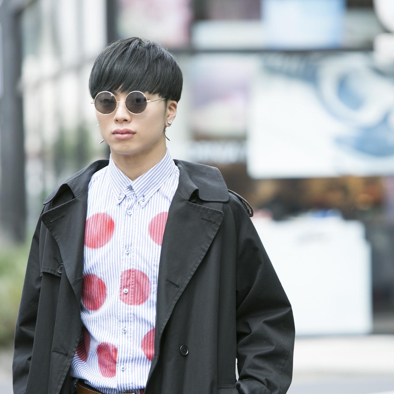 18歳・恵梧「黒で統一するのがファッションのこだわり」【18-22 SNAP #001】
