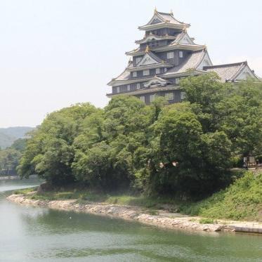 別名「鳥城」で鳥とのツーショットは撮れるか...岡山城