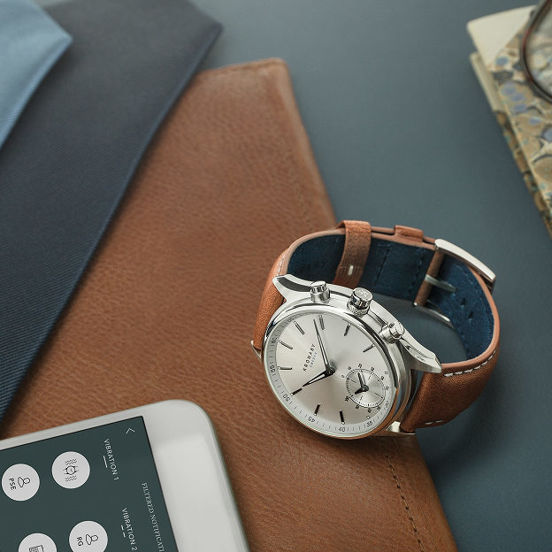 日々成長する腕時計!? KRONABY(クロナビー)日本初上陸