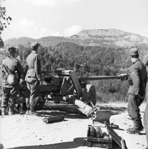 戦場におけるPaK40(対戦車砲)の戦い方