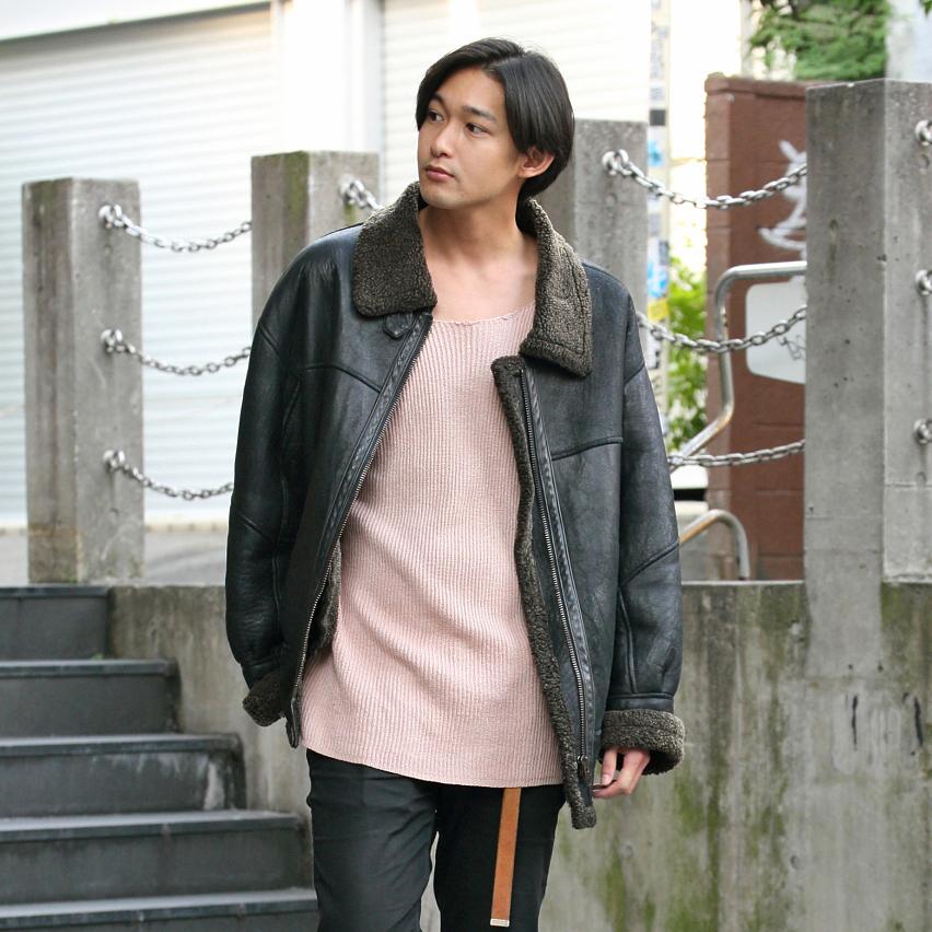 【SNAP JACK】<br />革を着ないで男と言えるのか!<br />九内健太くん・モデル