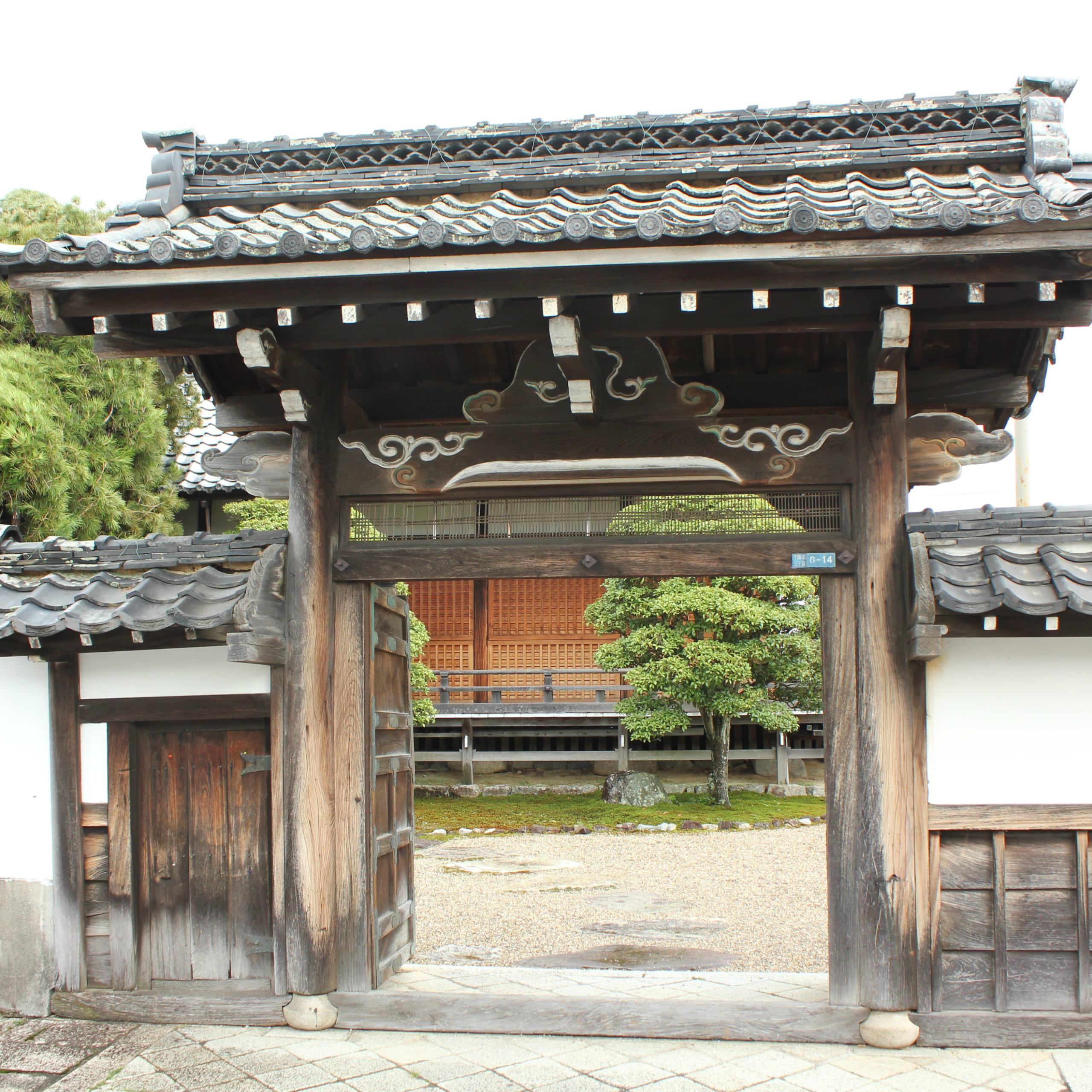 明智光秀の足跡を訪ねて③坂本城跡は広かった