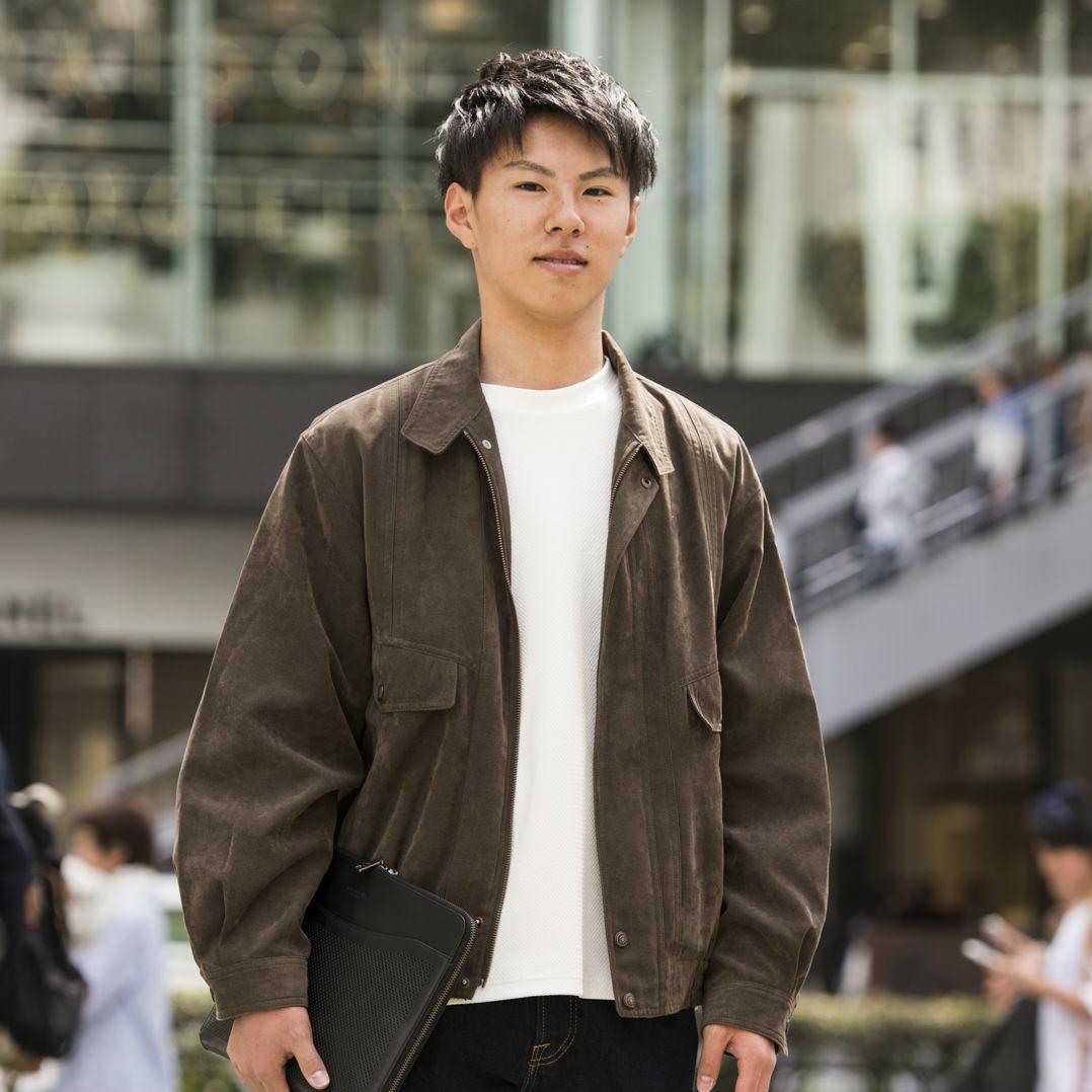 【SNAP JACK】ファッション偏差値50…いい意味でね  東京都市大学・星颯太郎くん