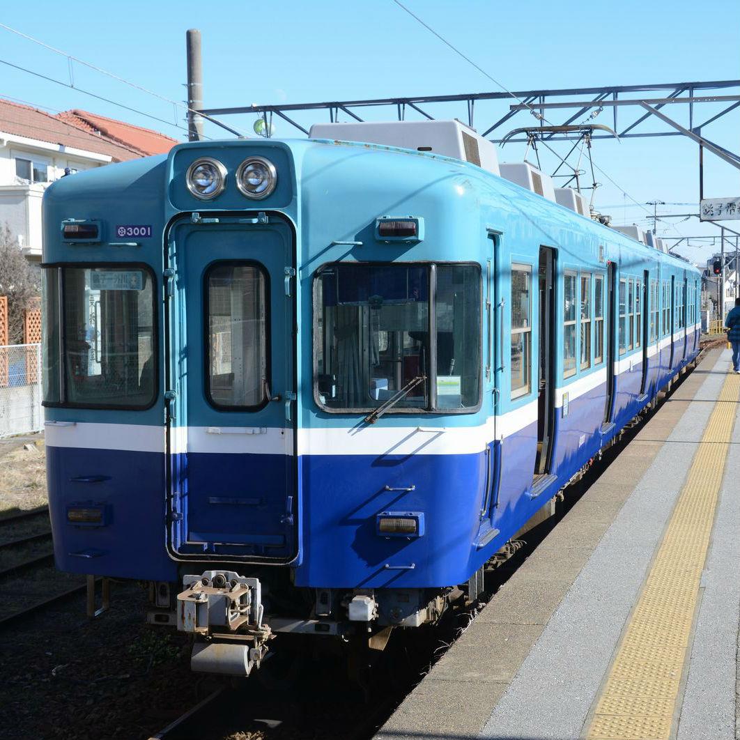 戌年に因み銚子電鉄に乗って犬吠埼へ