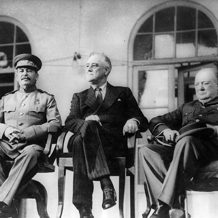 ソ連帝国の形成を容認したテヘラン・ヤルタ会談