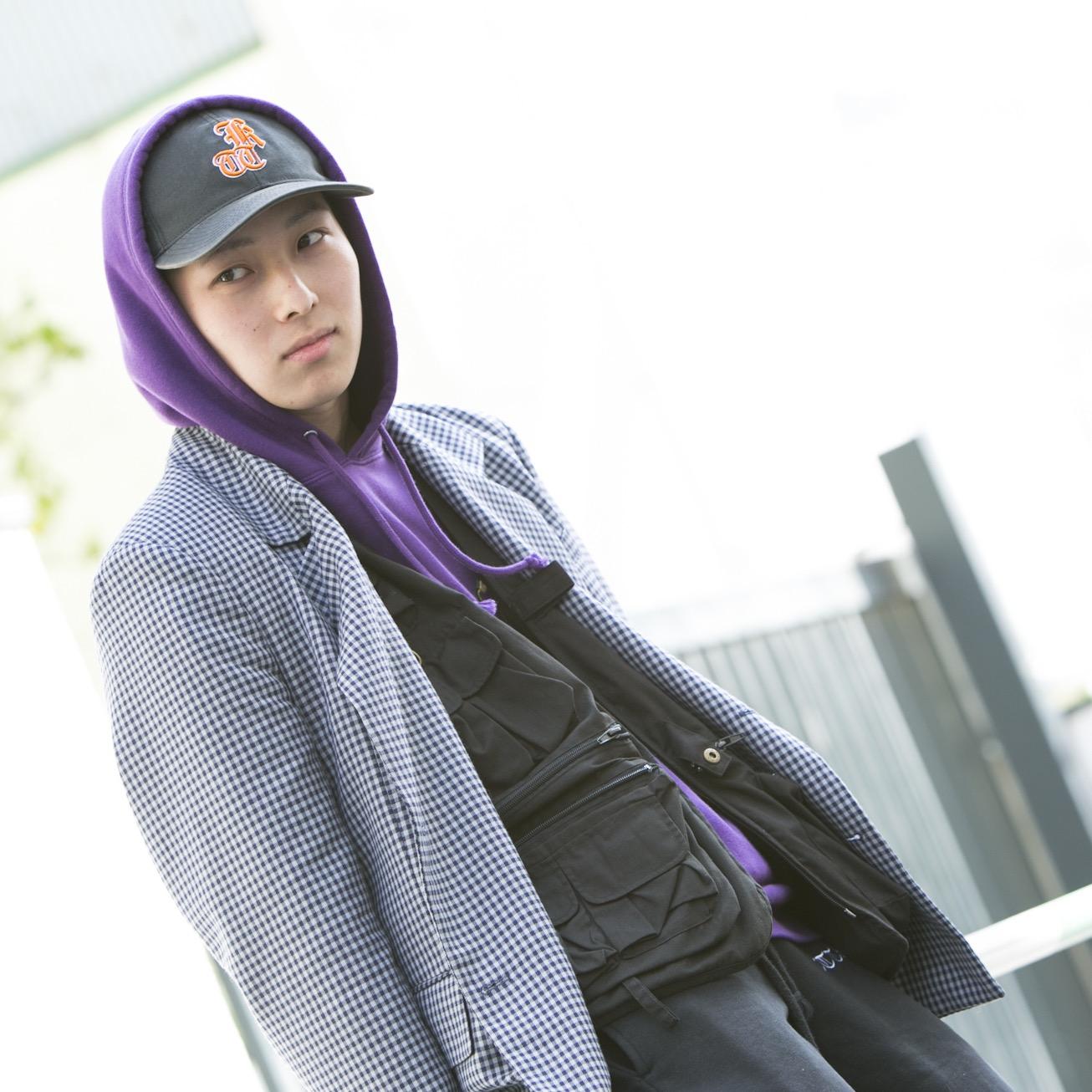 20歳・剣星「今日のファッションは…パジャマで来た卍」【18-22 SNAP #017】
