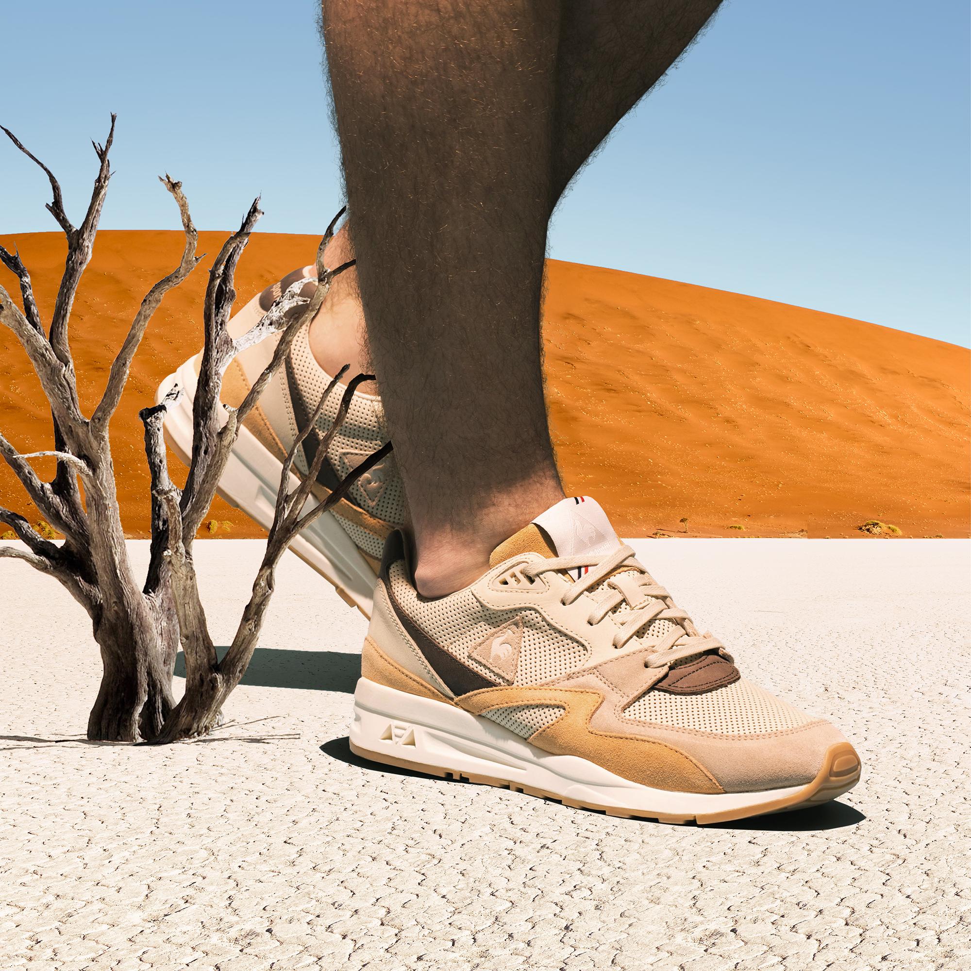 砂と太陽に満たされて。ルコックが挑む「砂漠×スニーカー」