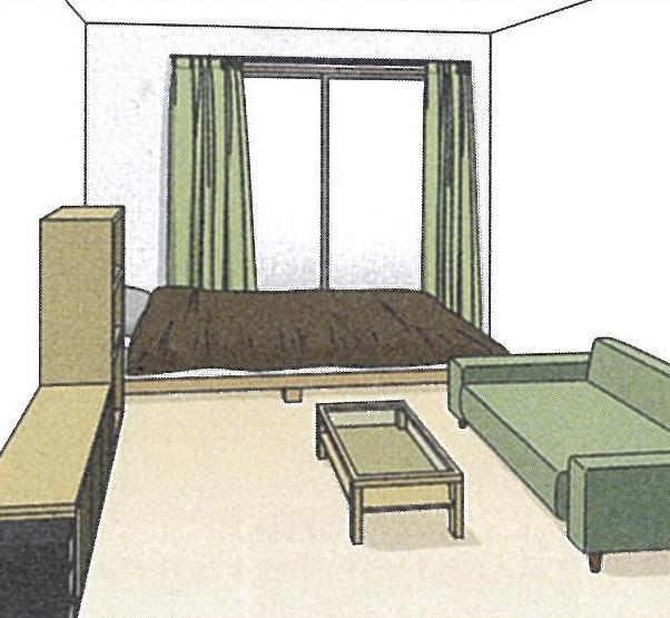 6畳1K部屋を広くオシャレに見せる簡単テクニック5選
