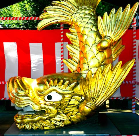 「名古屋」と言えば金の鯱。その起源