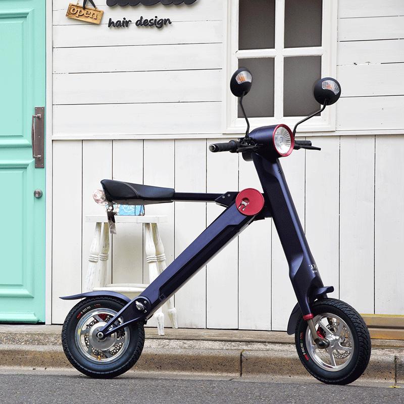 UPQ中澤優子氏に聞いた! ひと味違う電動の折りたたみバイク