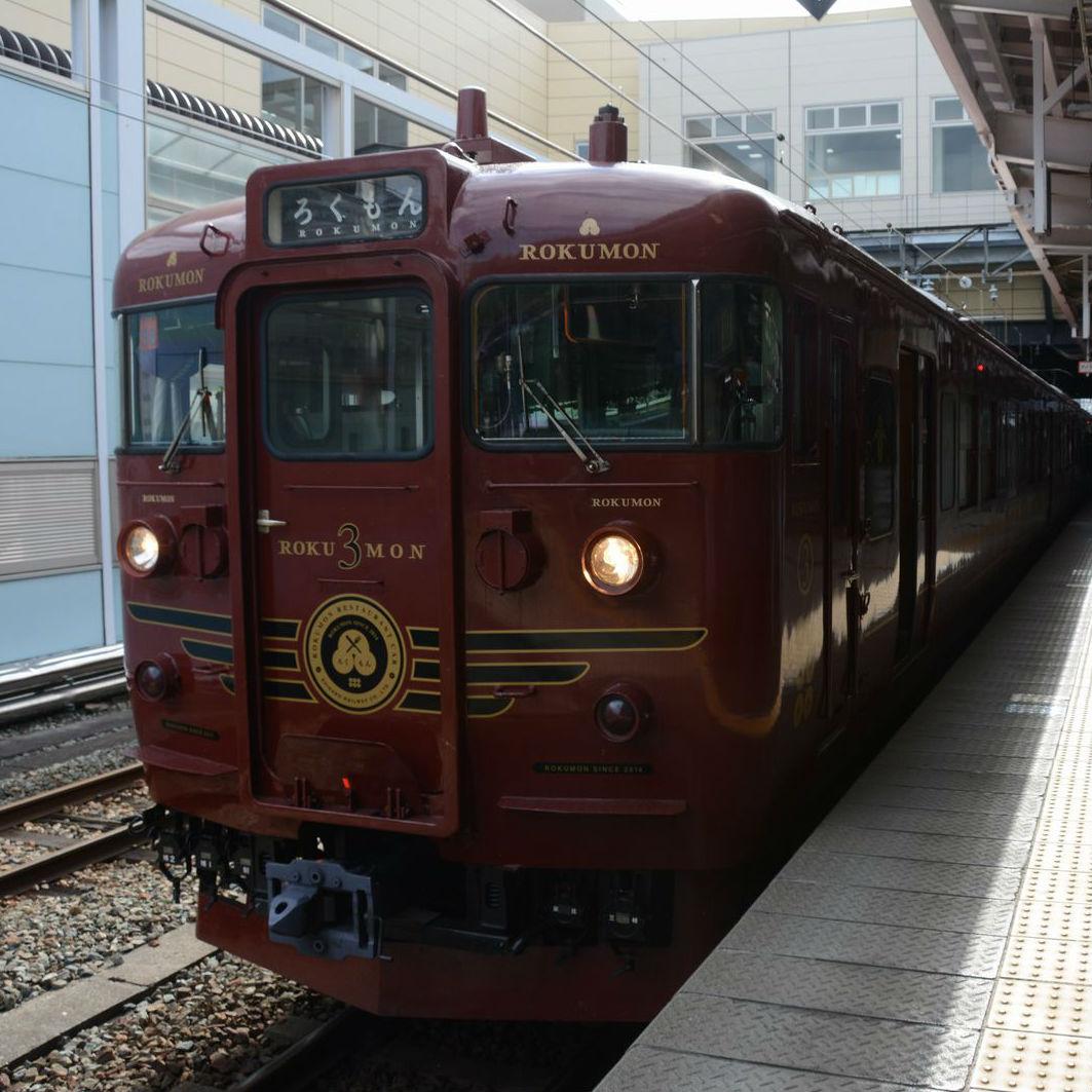 しなの鉄道の観光列車「ろくもん」北信濃雪見酒プラン試乗会