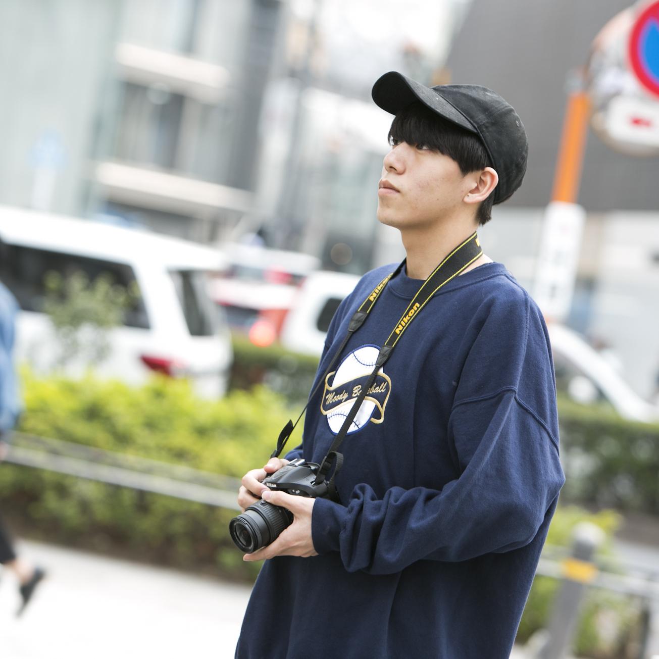 19歳・滉太「今日はラフな感じだけど、もっと大人っぽくなりたい」【18-22 SNAP #021】