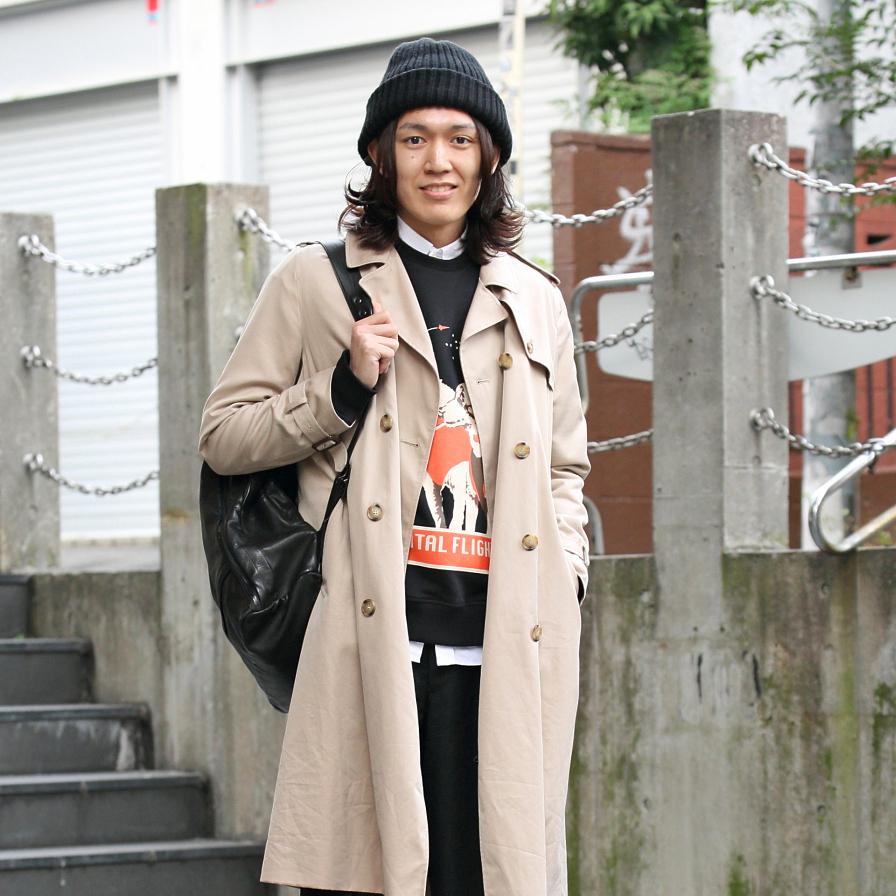 【SNAP JACK】<br />ハイブランドとファストファッションの組み合わせが秀逸!<br />市村悠貴くん・文化服装学院
