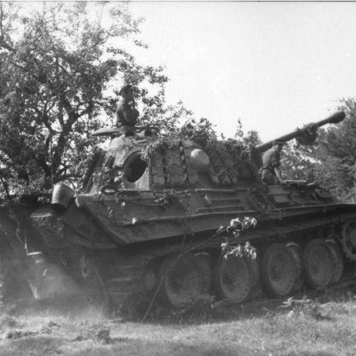 """連合軍戦車にとって""""悪夢""""のような存在となった、ドイツのパンター戦車"""