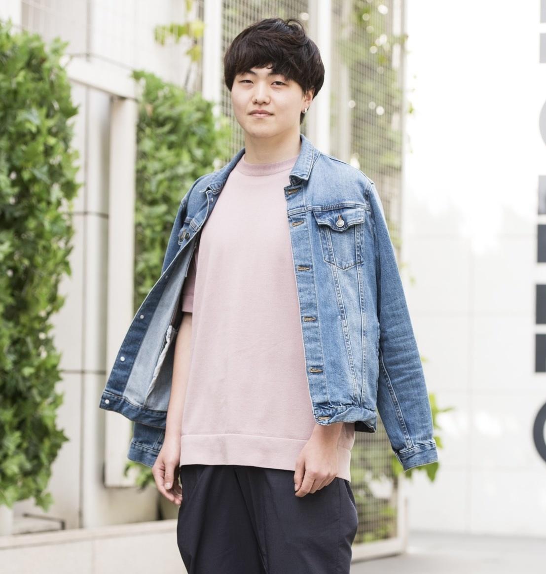 【SNAP JACK】密かなブーム「ピンク男子」をキャッチ! 今田健斗くん・神奈川大学