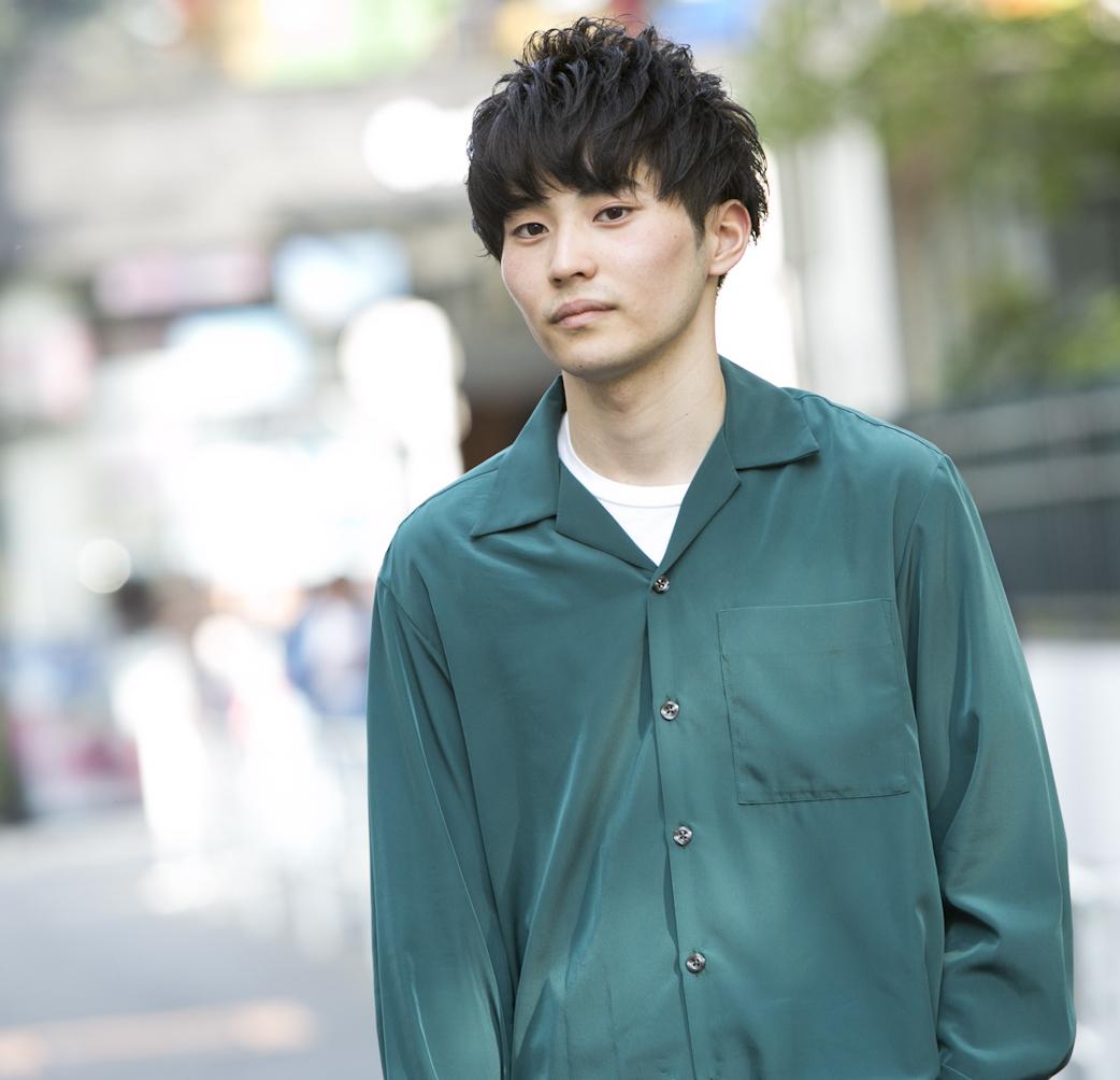 19歳・滉法「野村周平さんは趣味が服装に滲み出てかっこいい」【18-22 SNAP #033】