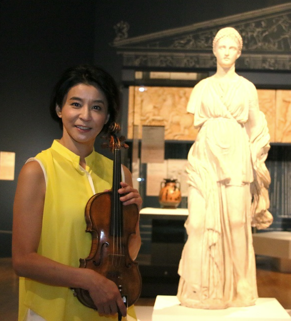 ヴァイオリニスト高嶋ちさ子さんが「うわぁ、良い身体してるな」と思った彫刻