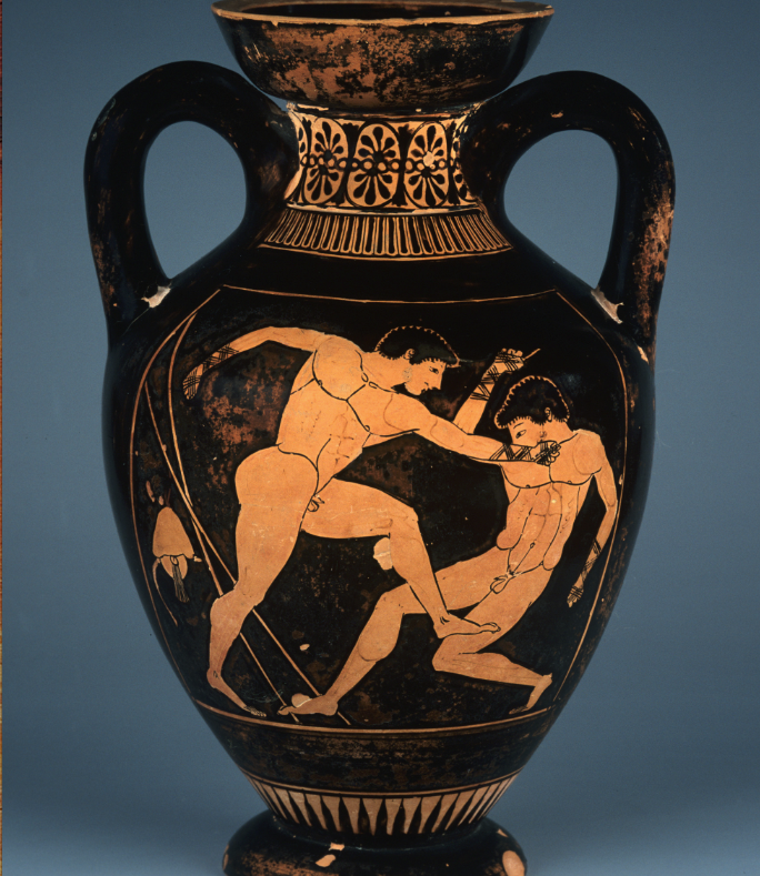 古代オリンピックは全裸で行なわれた!