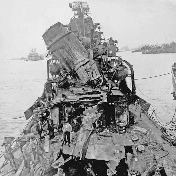 約1000隻。ワークホースとして重用された「アメリカ駆逐艦」