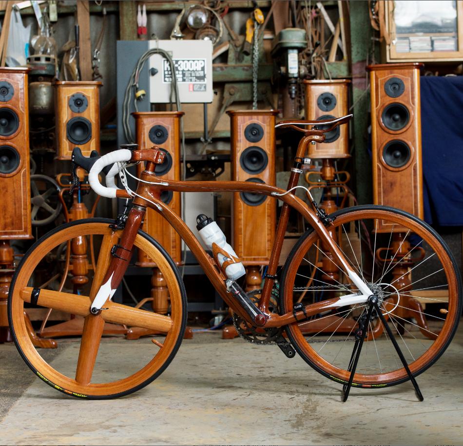 世界を驚かせ続ける「木造自転車」