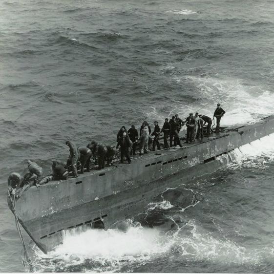 史上最悪の損傷を被ったにもかかわらず帰還した、第二次大戦時ドイツ軍の「Uボート」