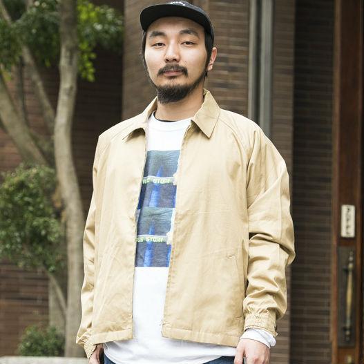 【SNAP JACK】こだわりのブルゾンでストリート×アメトラに! 山本祥平さん・ジャーナル スタンダード 渋谷店 ファッション アドバイザー