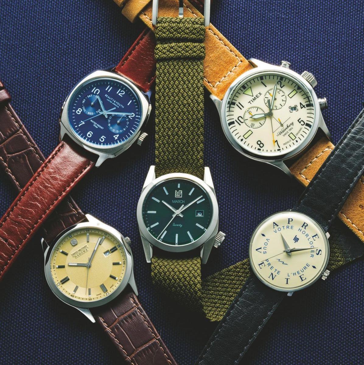 3万円以下で高級時計に見えるレトロフェイス5選<br />