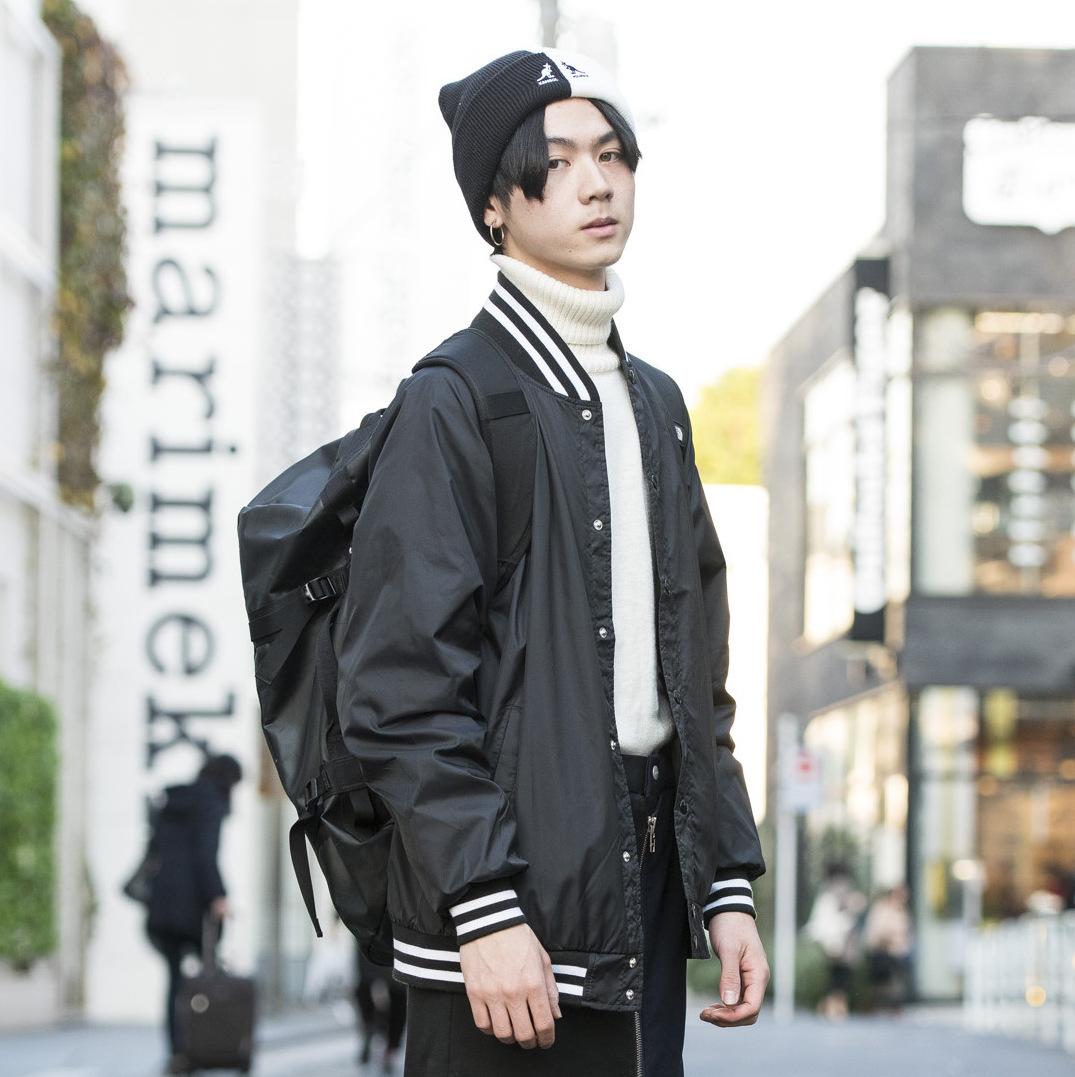 【SNAP JACK】<br />個性派アイテムをモノトーンでモードな雰囲気に!<br />井川諒亮くん・東京