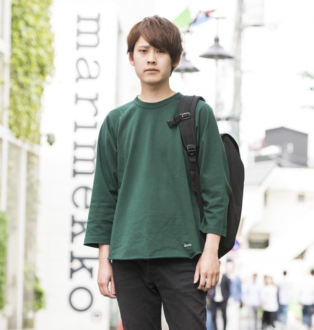 【SNAP JACK】大人のおしゃれは「足元を見られる」んです…。 藤谷 幹くん・東海大学