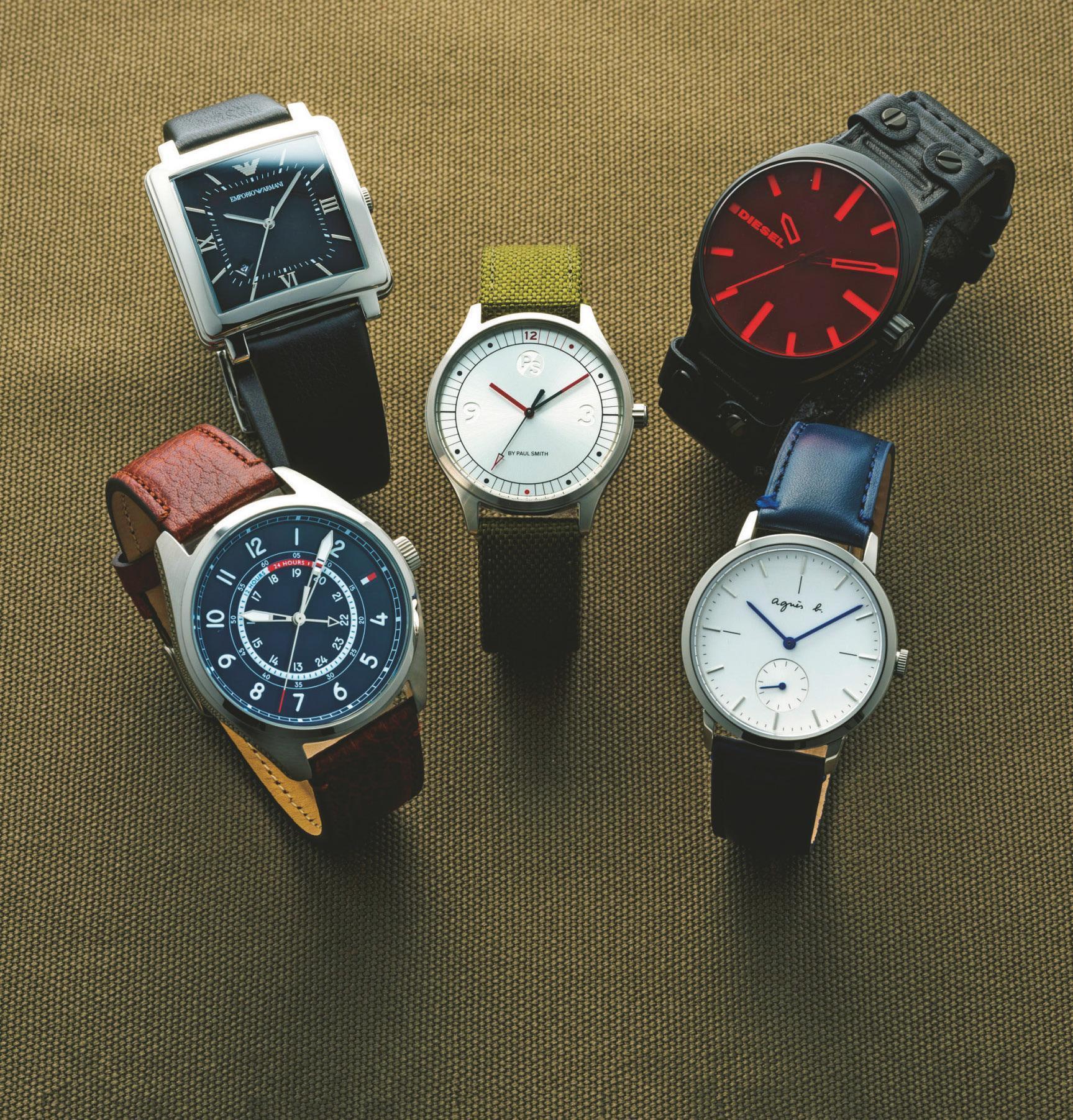 アルマーニもディーゼルも!3万円以下の高見えブランド時計5選<br />