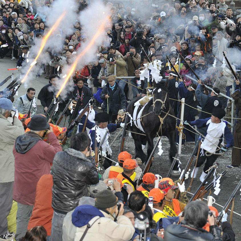 日本にこんな祭りがあったとは……江戸時代から伝わる「鉄砲祭り」がアツい