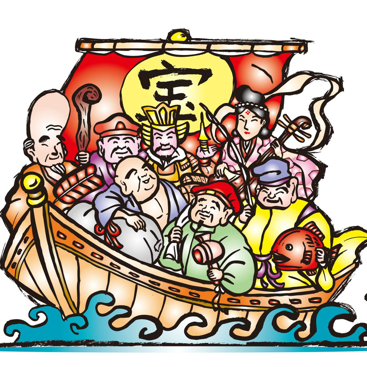 「七福神信仰」の起源は室町時代にまでさかのぼる