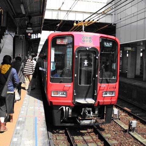 激レア! 真田赤備え列車に乗る!