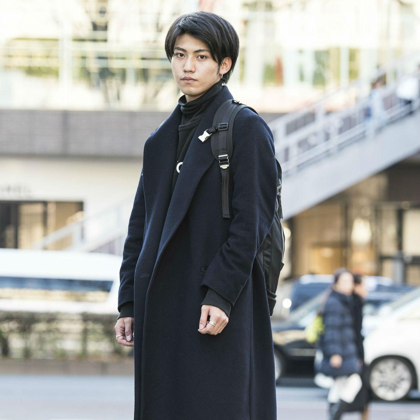 【SNAP JACK】<br />オールブラックでHigh&Low!!(プライスが)<br />井ヶ田優吾くん・東洋大学