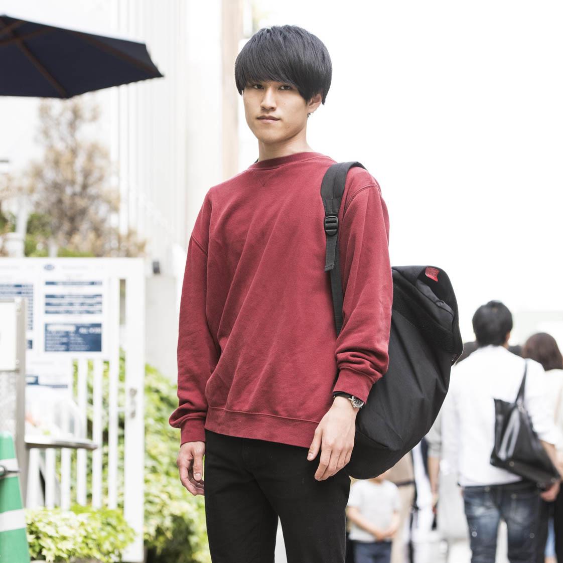 【SNAP JACK】ファッションはシルエットが9割 小澤高帆くん・高校生