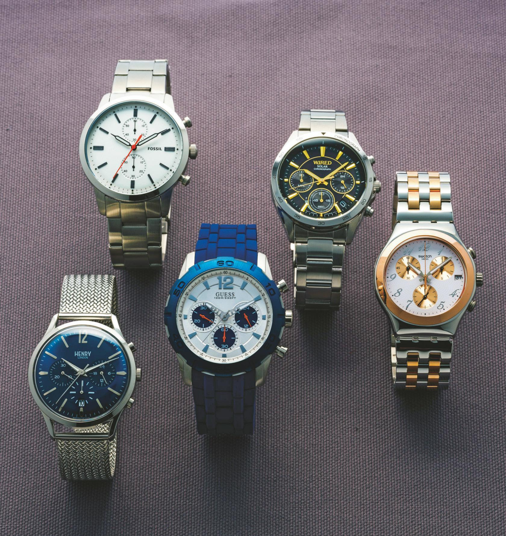 3万円以下で高級時計に見えるクロノグラフ5選<br />