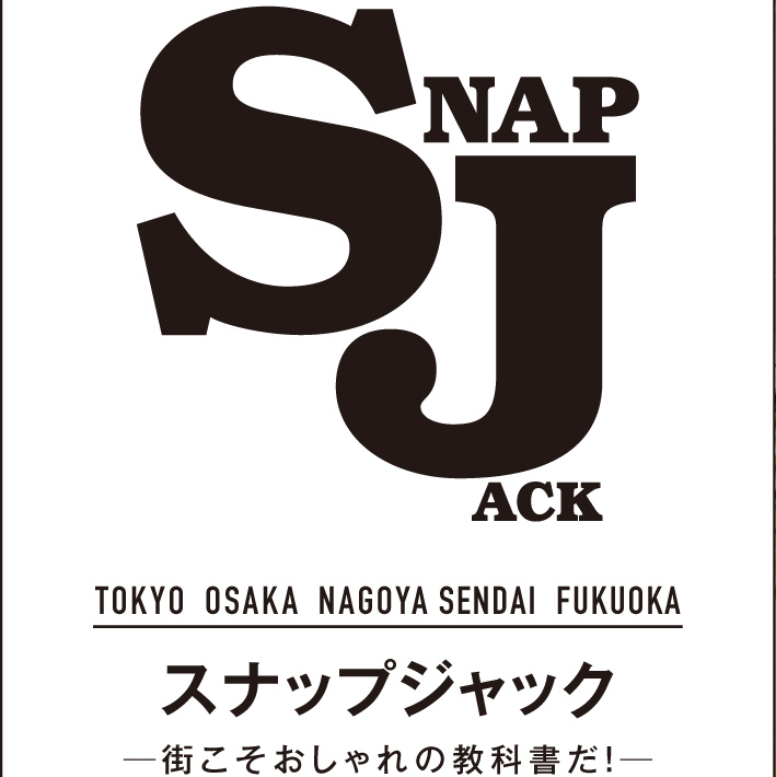 【SNAP JACK】<br />アウターの肩掛けでモードな雰囲気に<br />高橋大地くん・青山学院大学