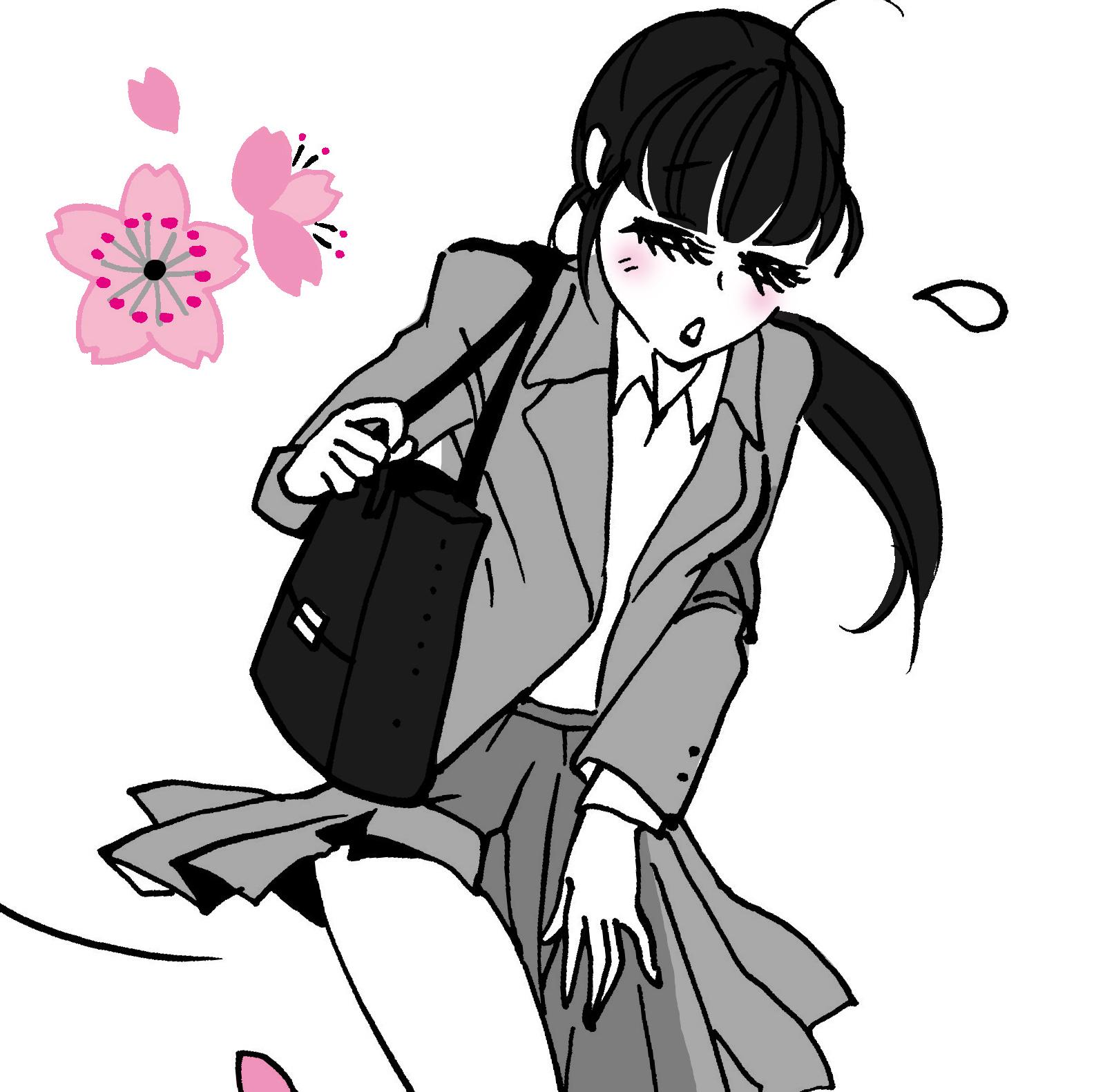 ゆうきゆう先生がこっそり教えてくれた――<br />入学式&入社式のスーツ女子を丸はだかに?