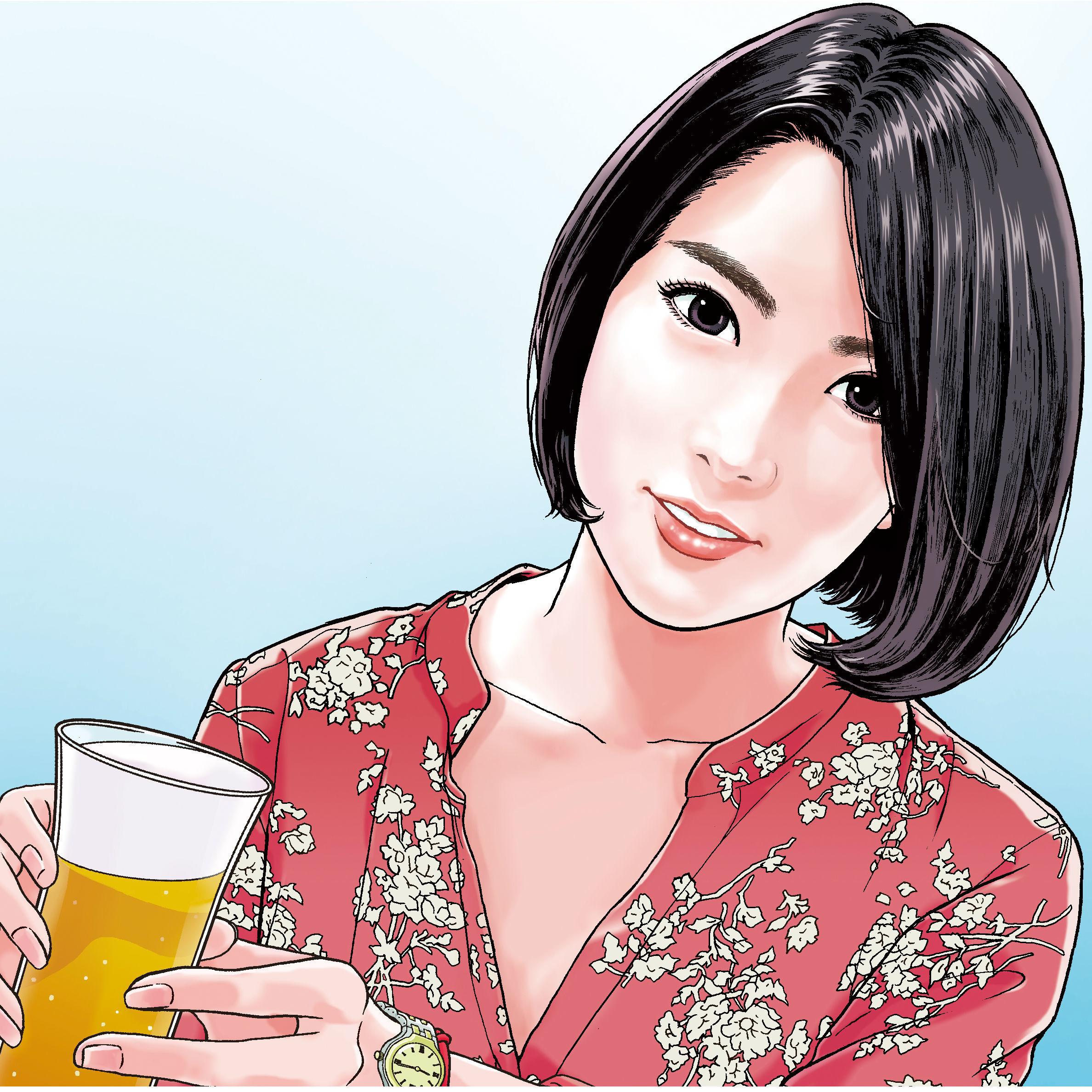 「串と美人2」第6回 彩乃さん(26歳/会社員)