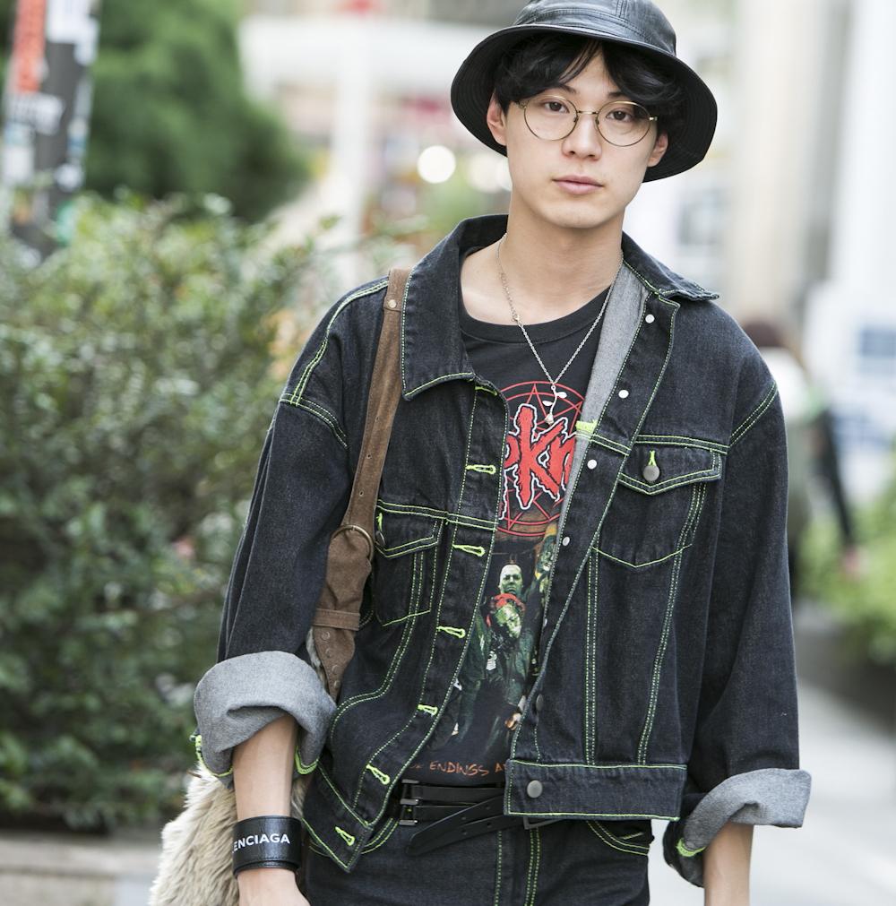 22歳・駿「?松田翔太さんはモードもアメカジも何でも似合う!」【18-22 SNAP #036】